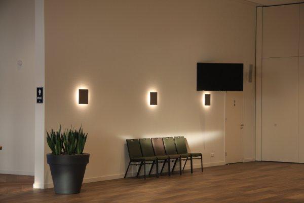 Wandlampen Crematorium Haskerpoort