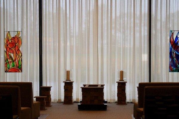 Gependelde cirkels Crematorium Haskerpoort