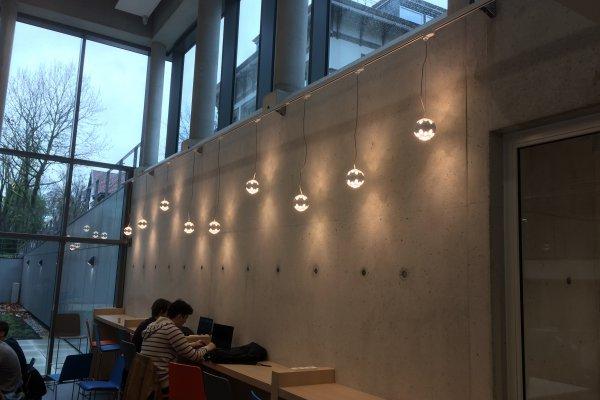 Hanglampen bolletjes in rail